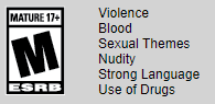 ESRB Mature Rating